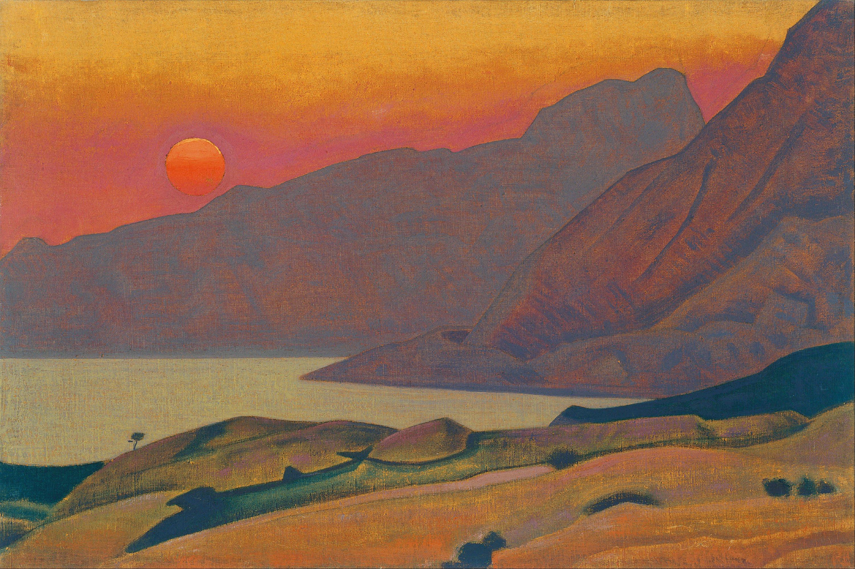Nicholas_Roerich_-_Monhegan._Maine_(1922) painting