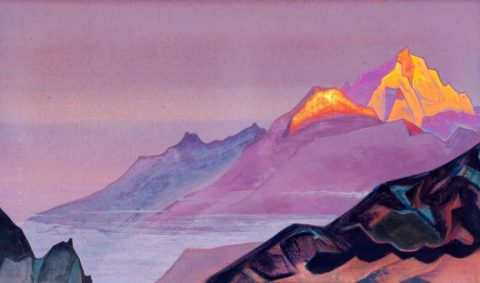 path to shambhala nicholas roerich painting 1933