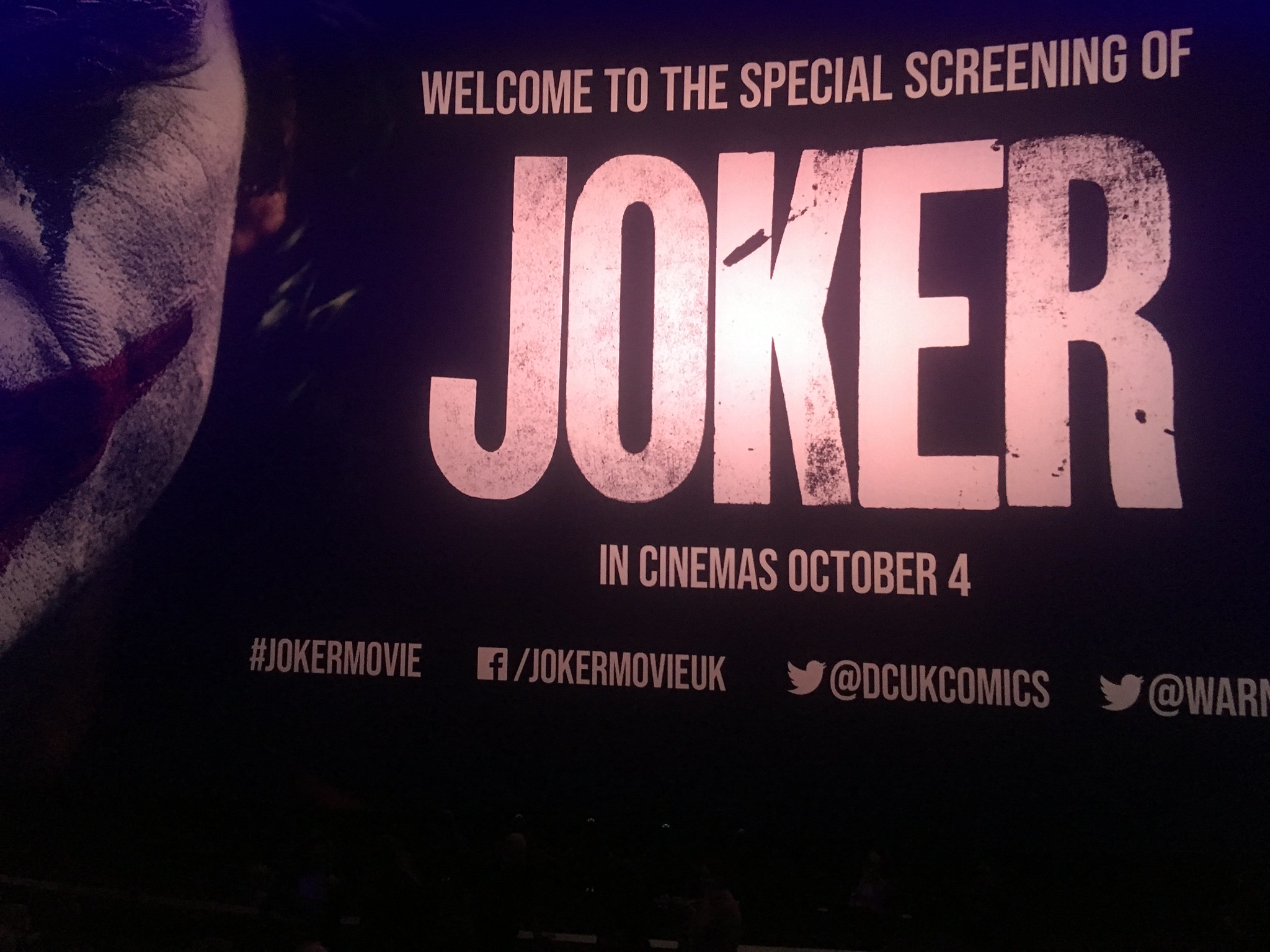 Joaquin Phoenix Todd Phillips London screening Joker 25 September 2019 Leicester Square