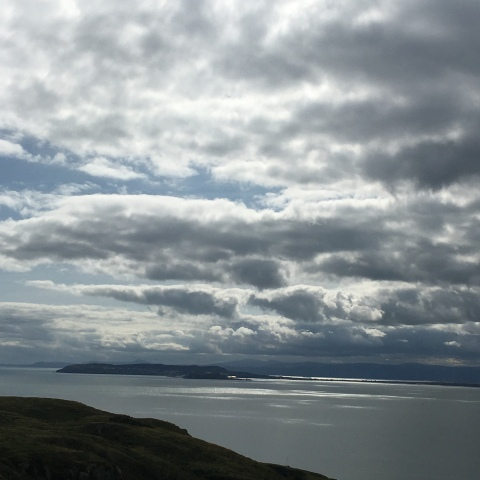 view of Howth from Lambay Island County Dublin Ireland