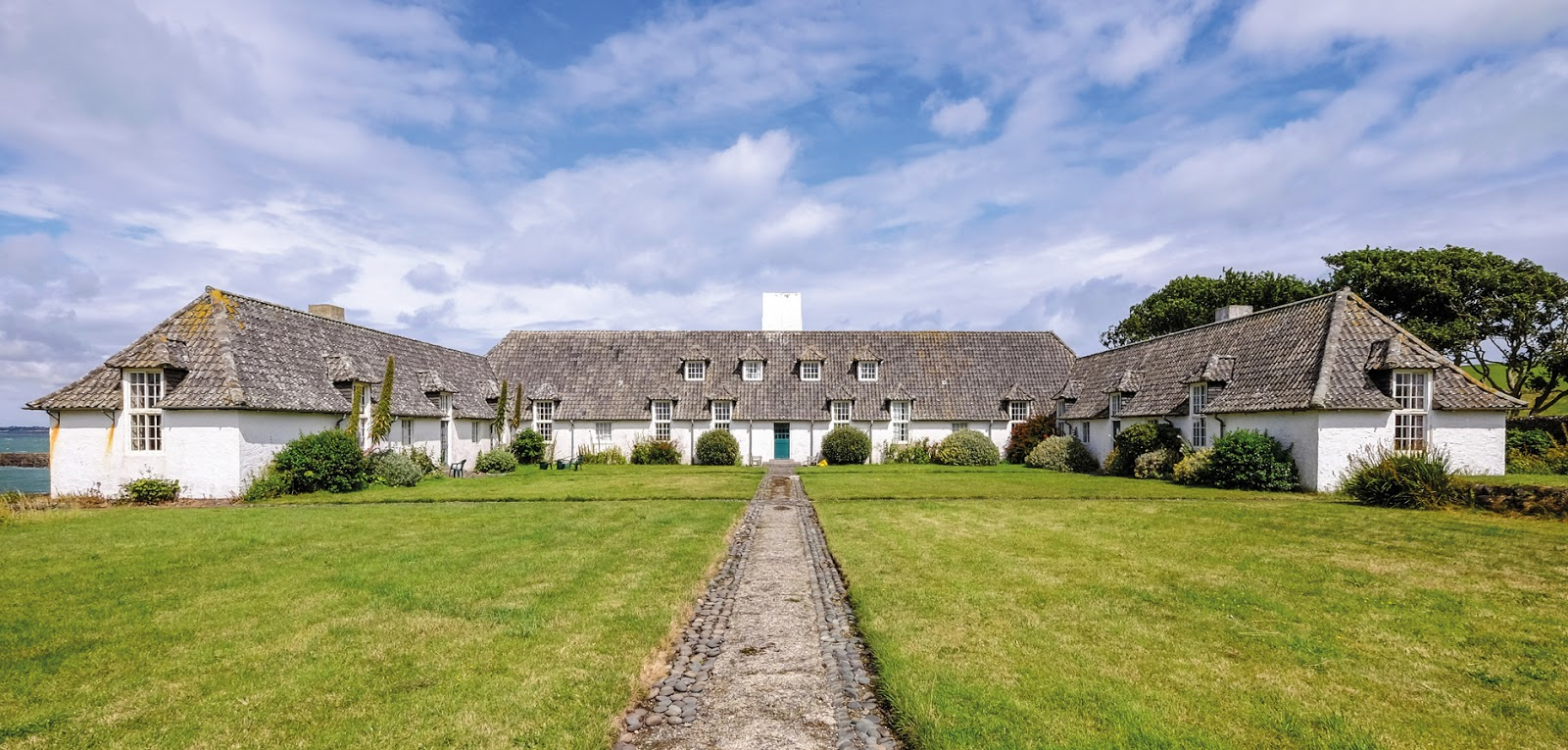 Lambay Island Whitehouse edwin lutyens