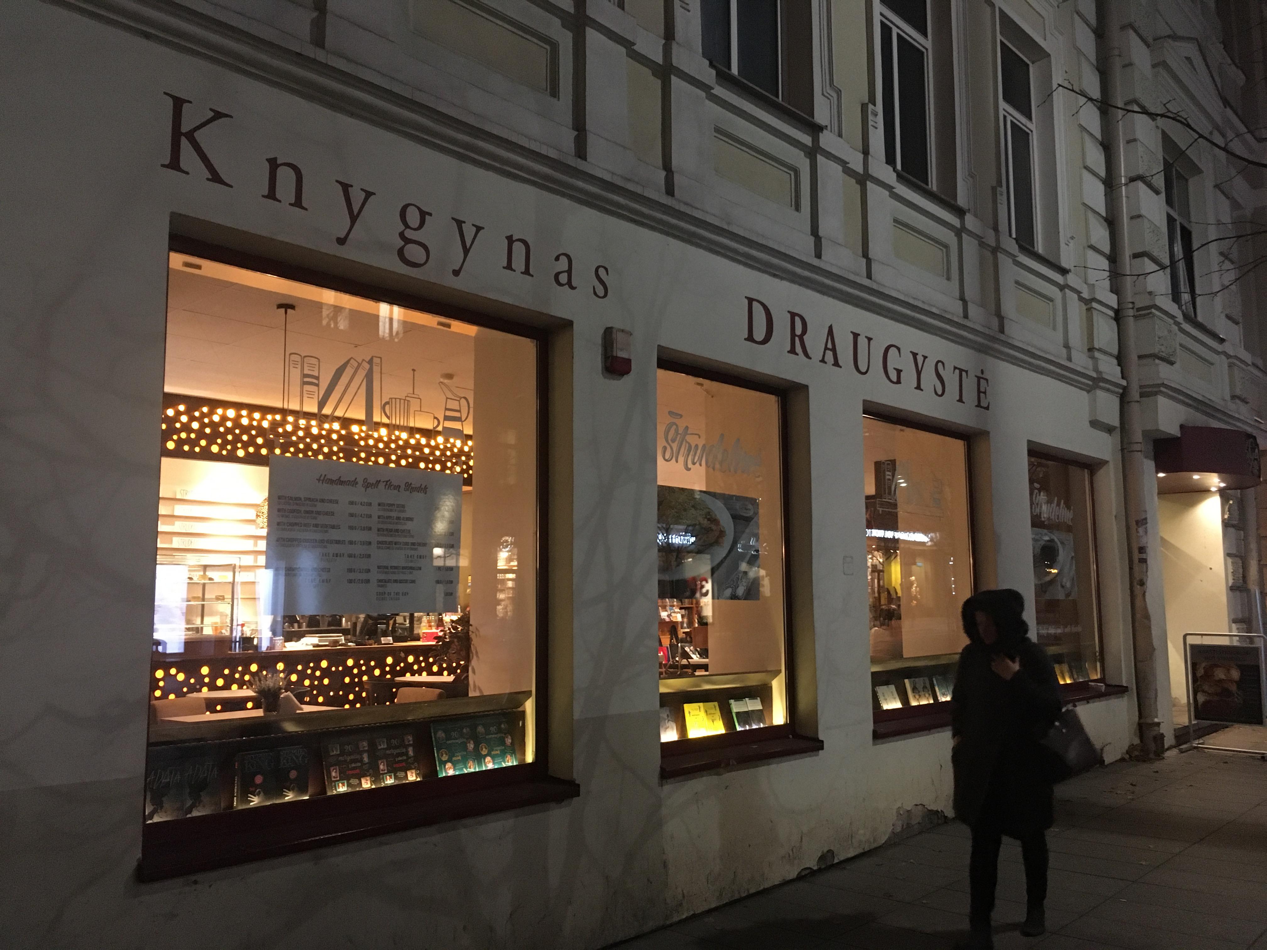 Knygynas VAGA bookstore book shop Vilnius lithuania