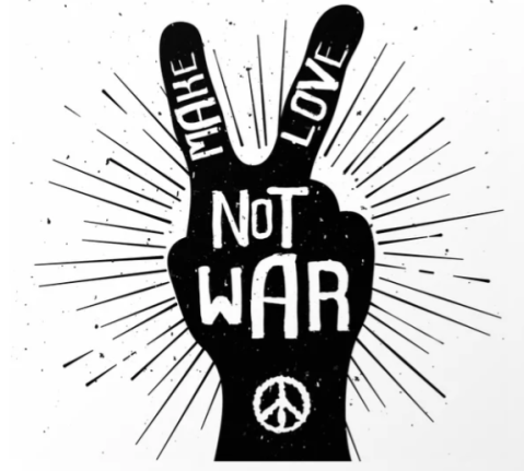 make love not war peace