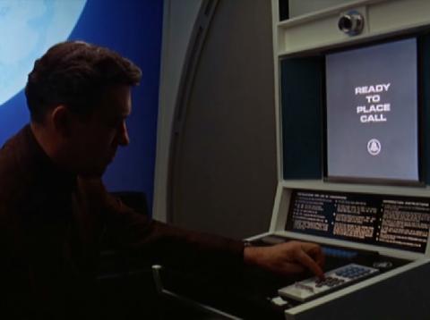 videophone 2001 space odyssey movie