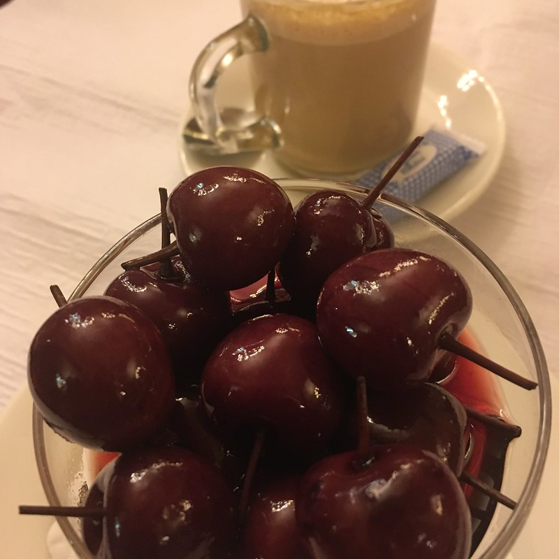 cherries in cognac