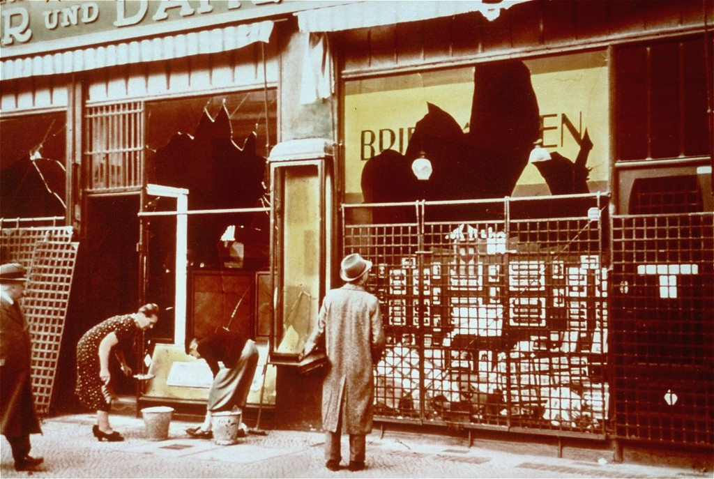 The night of 9th/10th November 1938 was Kristallnacht in Nazi Germany