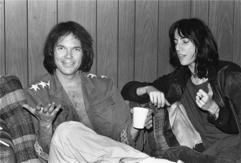 neil young patti smith