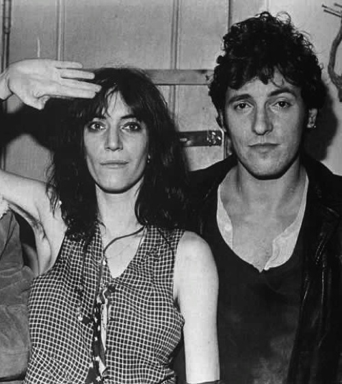 patti smith bruce springsteen