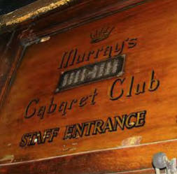 Murrays Cabaret Club 16-18 Beak St soho london profumo affair