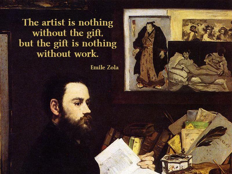 emile zola quotation