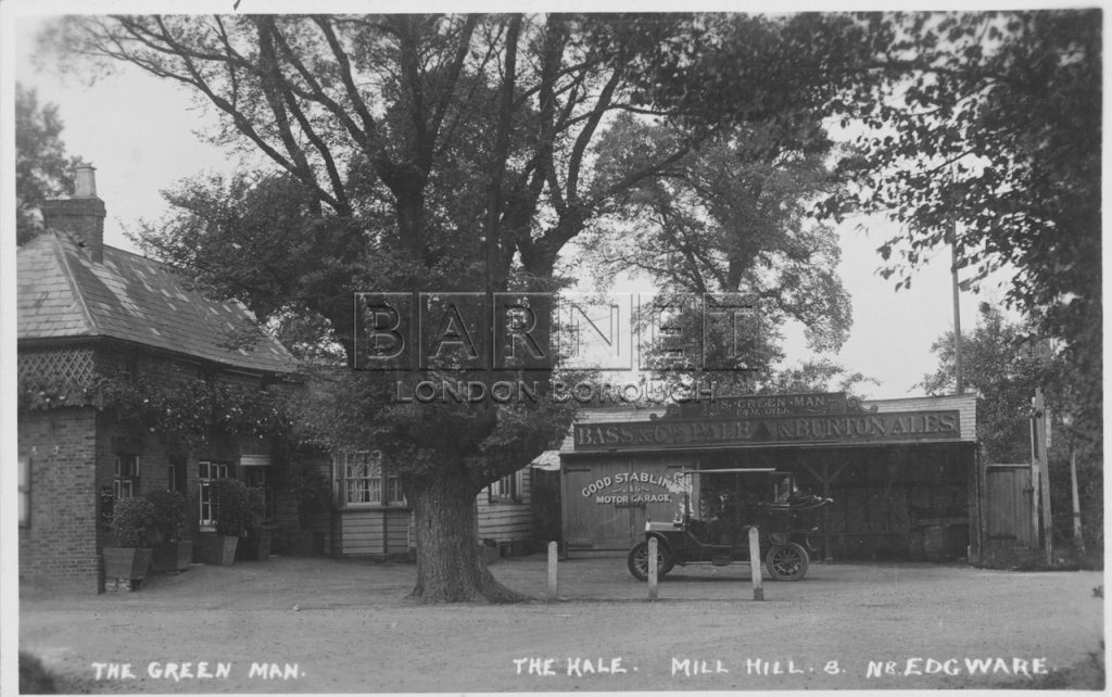 Green Man pub mill hill hale lane