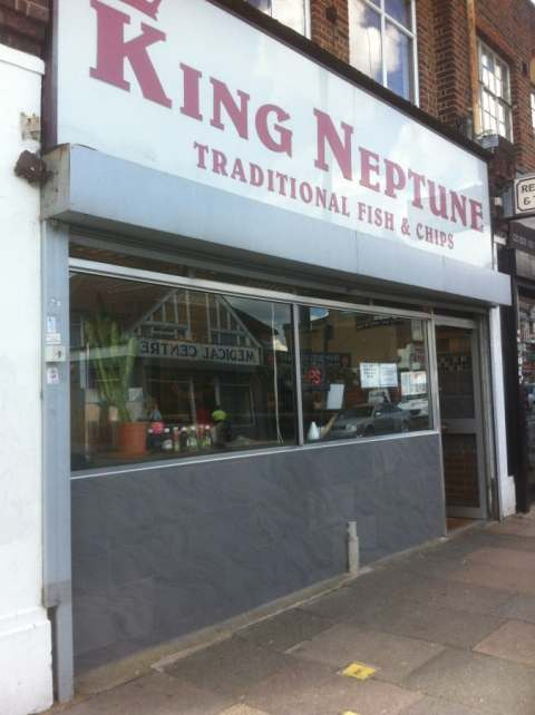 king neptune fish and chips mill hill green man