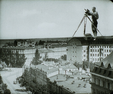 dziga Vertov man with a movie camera