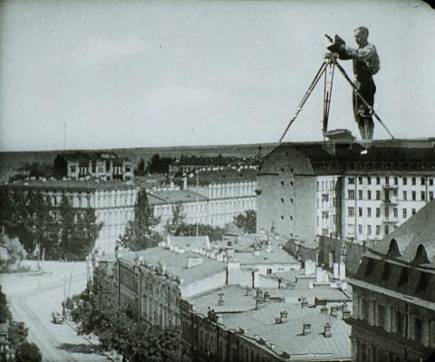 dziga Vertov man with a movie camera