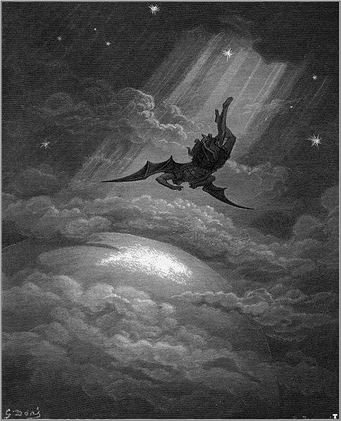 Gustave Dore Paradise_Lost John Milton satan falling