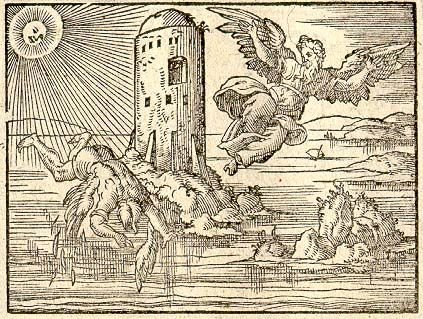 Daedalus and Icarus were locked in a tower by King Minos