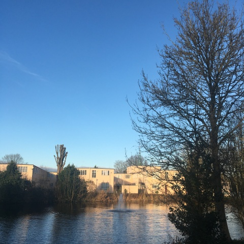 The Lake, Bletchley Park (Dec 2019)