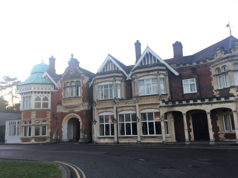 The Mansion, Bletchley Park (Dec 2019)