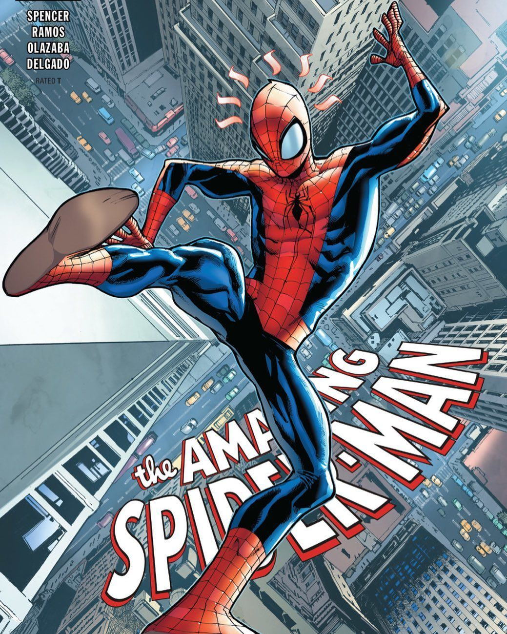 Free Falling The Amazing Spider-Man #8 Artist: Humberto Ramos (Aug 2019)