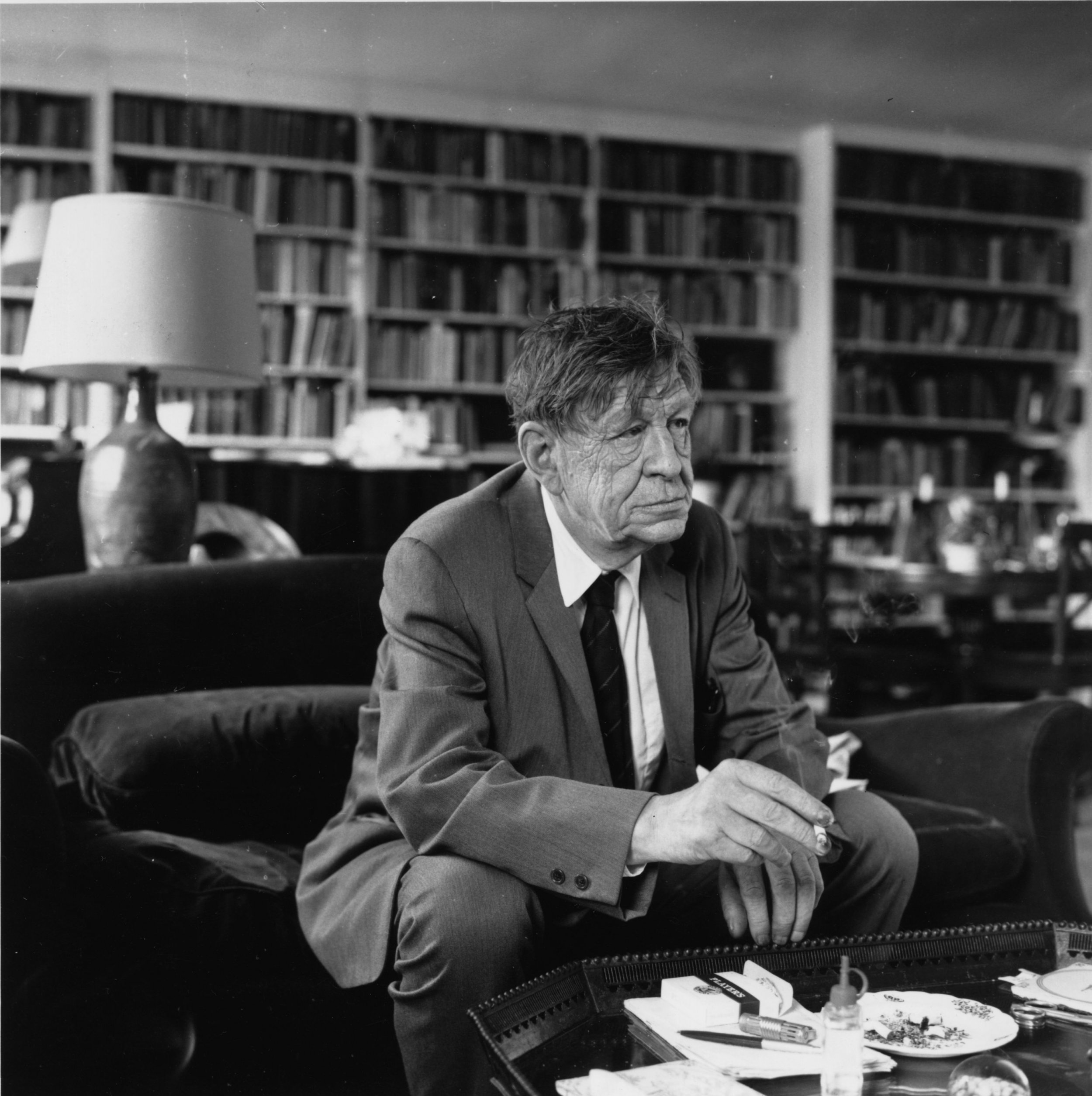 W H Auden English poet