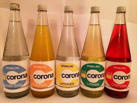 corona fizzy drinks pop 70s