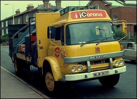 corona fizzy drinks pop 70s truck lorry