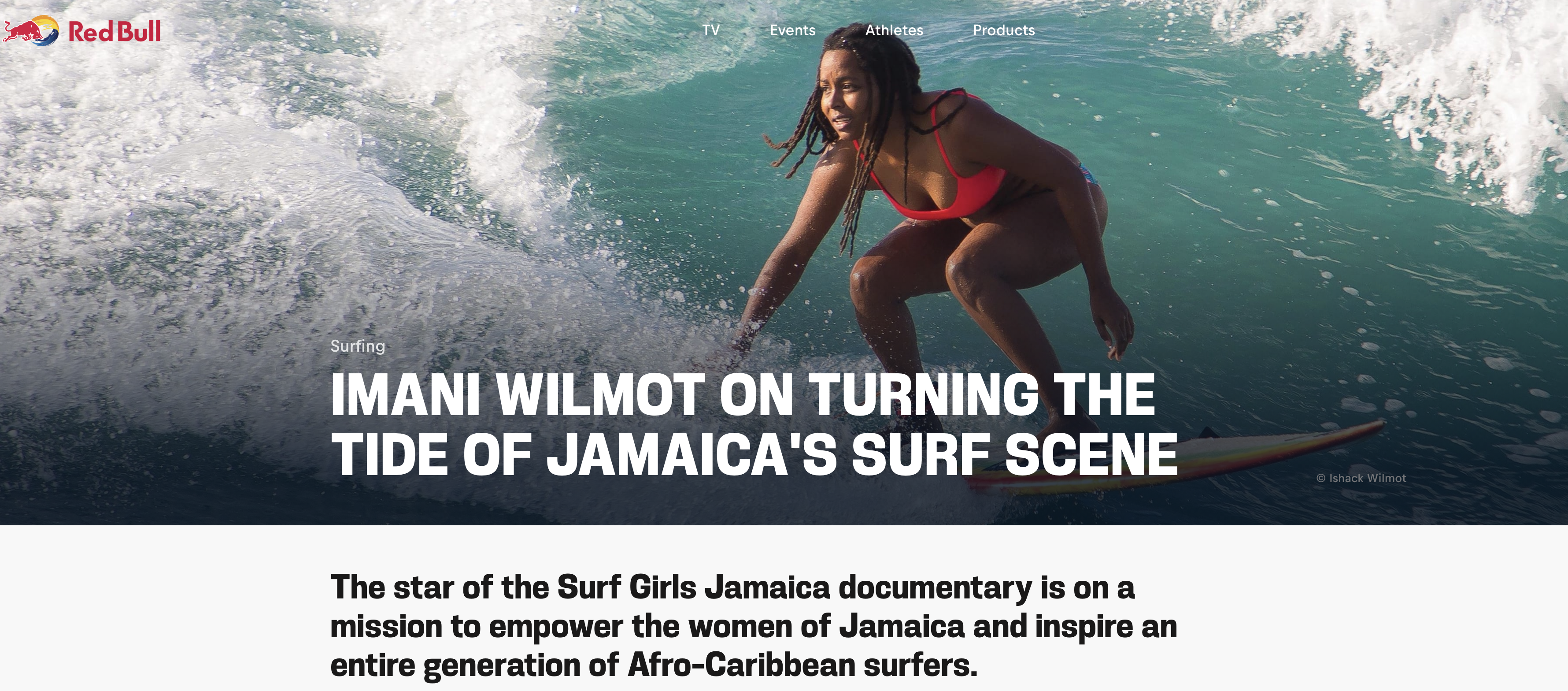 surf girls jamaica little dot studios red bull bulletin