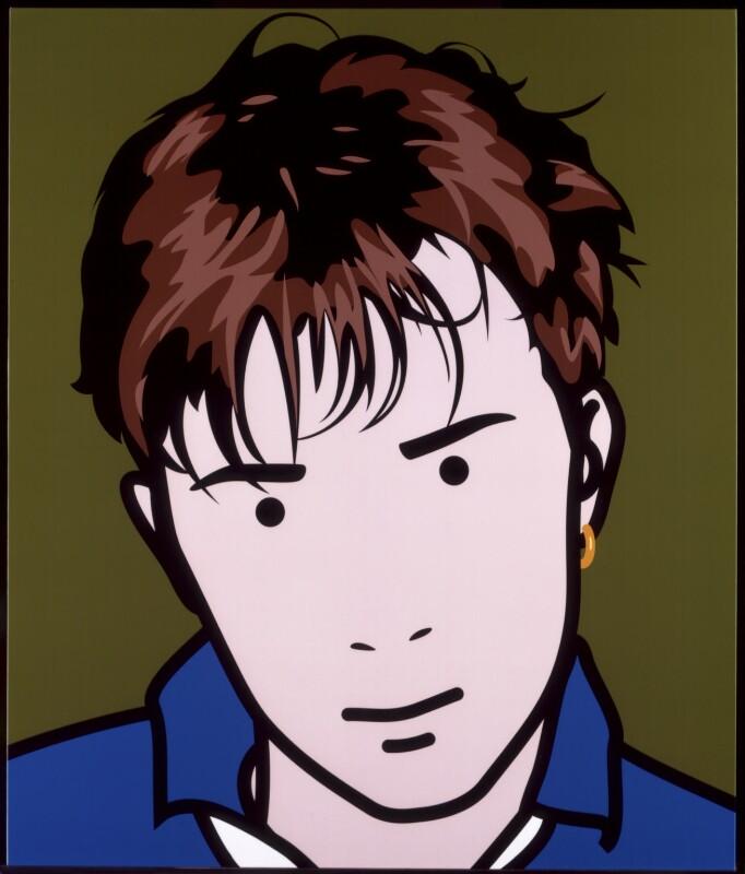 Damon Albarn of Blur by Julian Opie
