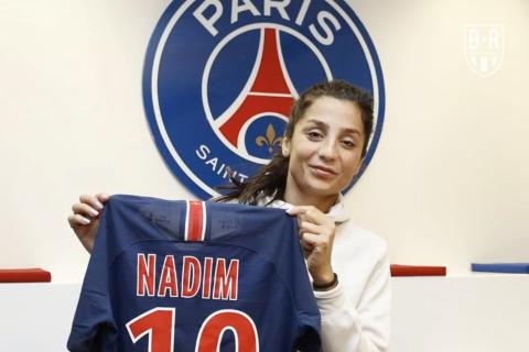 Nadia Nadim, footballer, Paris Saint-Germain