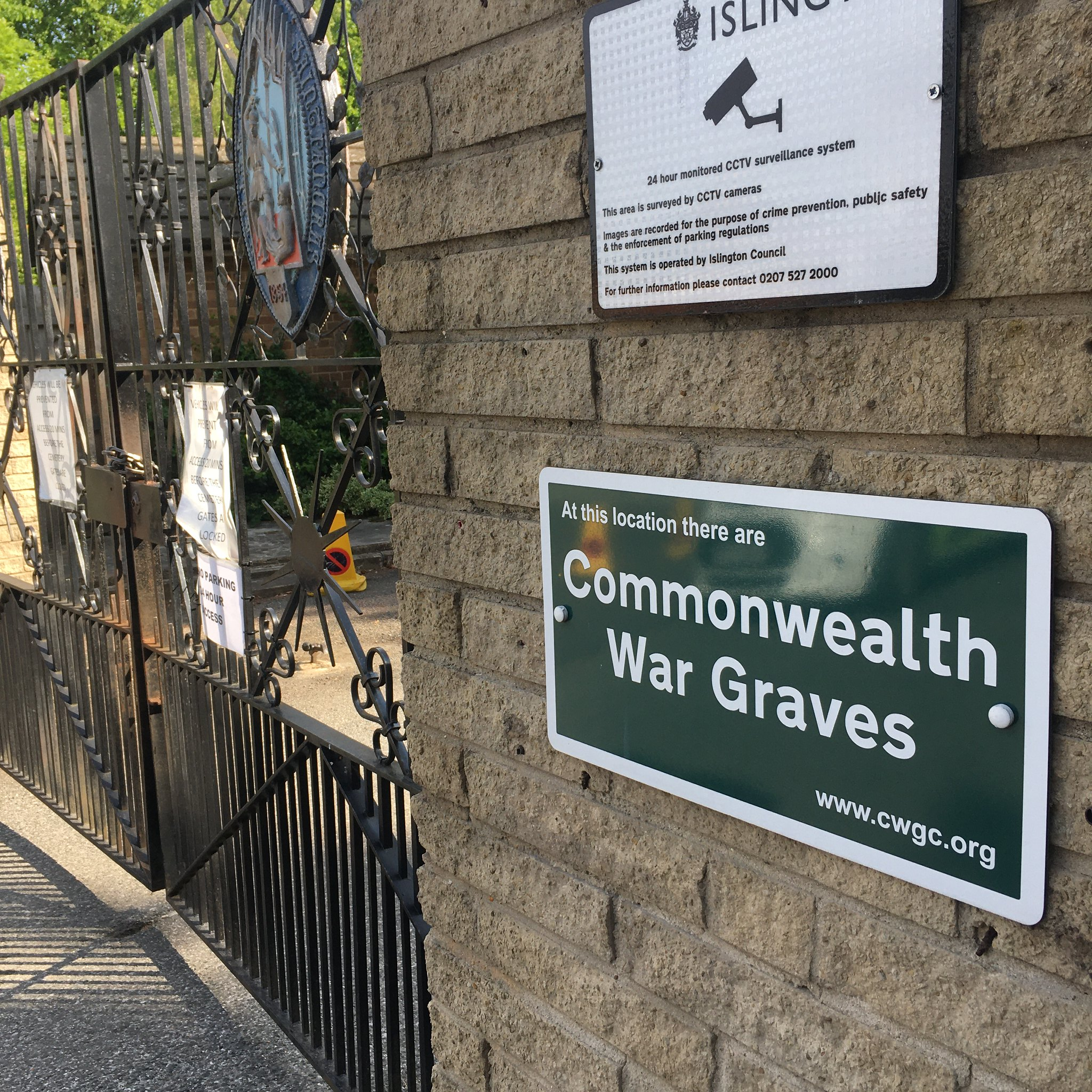 st pancras and islington cemetery commonwealth war graves