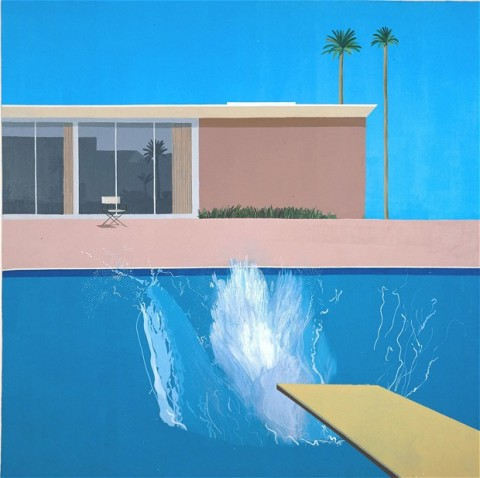 A Bigger Splash (1967) by David Hockney
