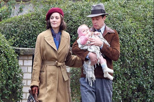 allied movie brad pitt marion cotillard hampstead
