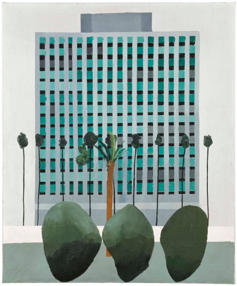 California Bank (1964) by David Hockney