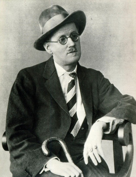 James Joyce portrait Irish writer novelist