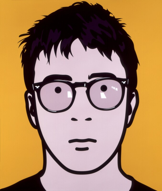 Graham Coxon (2000) by Julian Opie