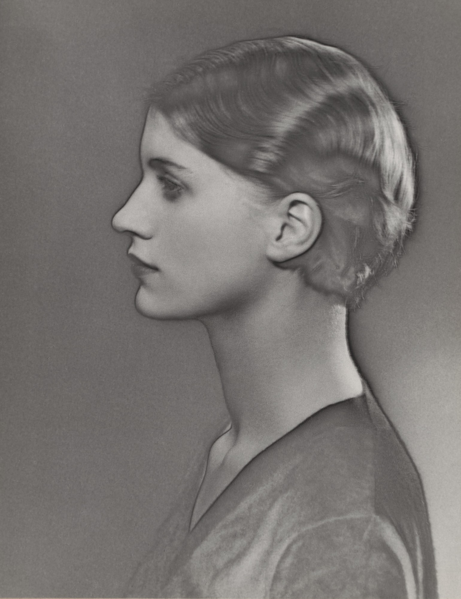 lee miller by man ray solarized