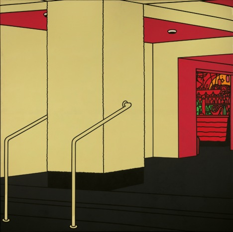 Foyer (1973) - Patrick Caulfield