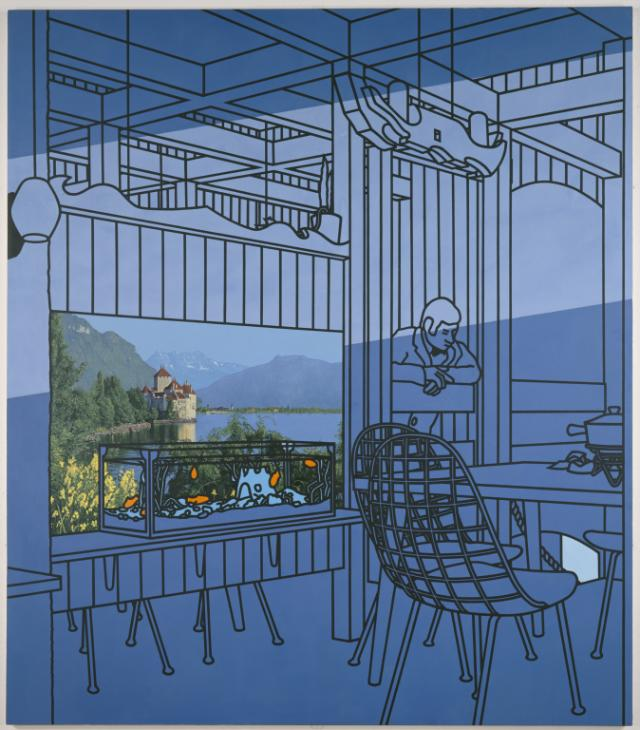 After Lunch (1975) by Patrick Caulfield [1936-2005]
