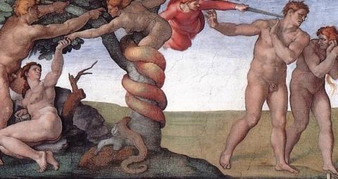 Michelangelo's Sistine Chapel Fresco