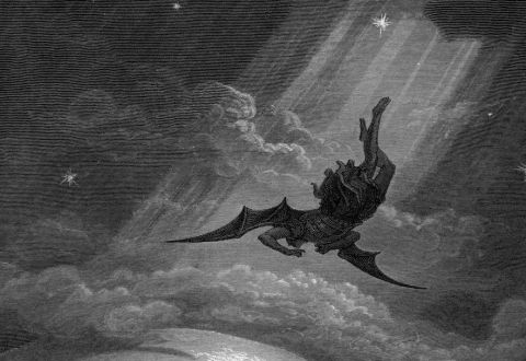 The Fall of Lucifer - Gustave Dore